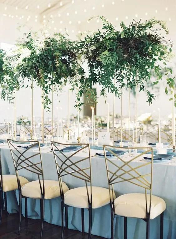 30 Sophisticated Tall Wedding Centerpieces - Weddingomania