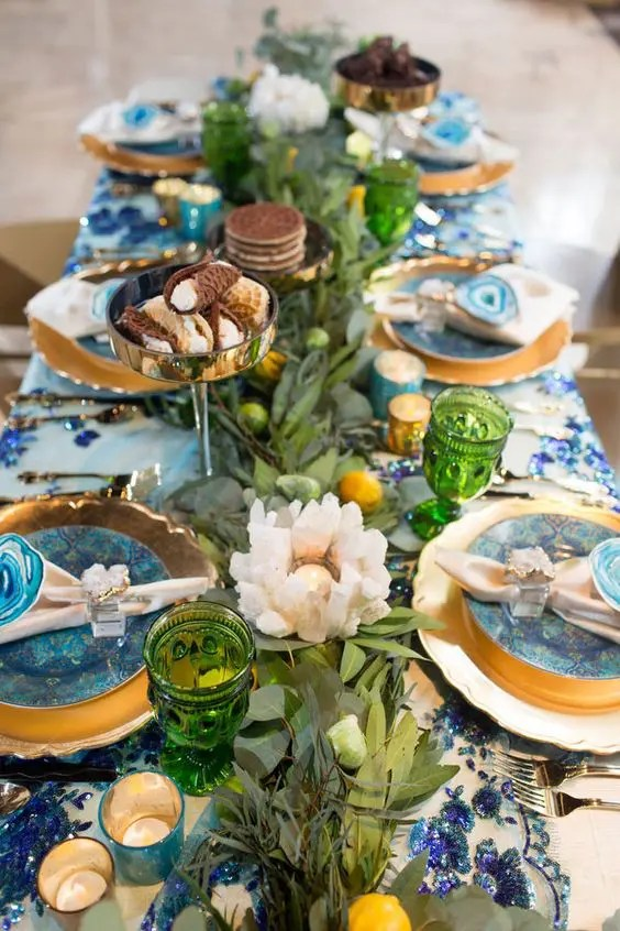 Mediterranean Wedding Decor