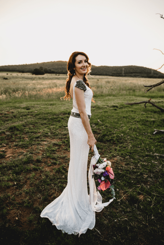 South African Meets Irish Festival-Inspired Wedding