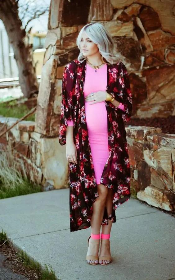 3076738b7b 25 Flawless Maternity Wedding Guest Outfits - Hochzeitskleid Ideen