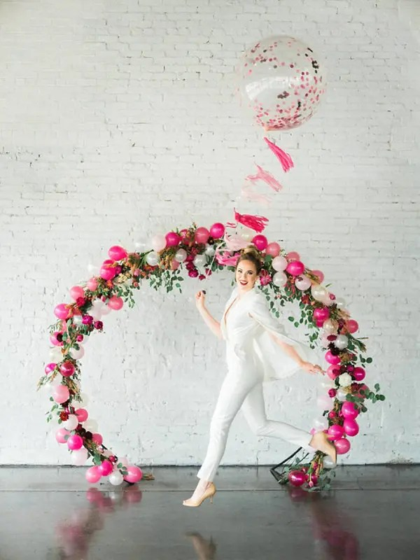 Balloon Wedding Arches