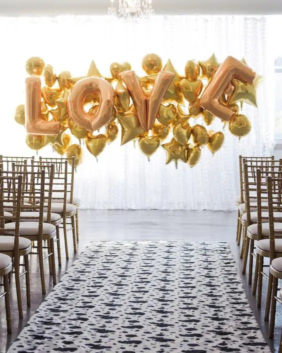 Balloon Wedding Backdrops