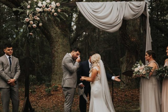 your ceremony is always a very touching moment, the main point during the wedding day, and of course it's very emotional