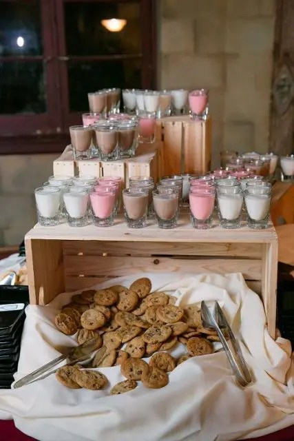 cute cookie bar ideas   wedding weddingomania
