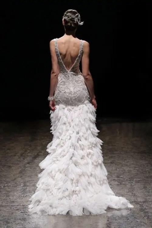25 Breathtaking Gatsby Glam Wedding Dresses Weddingomania
