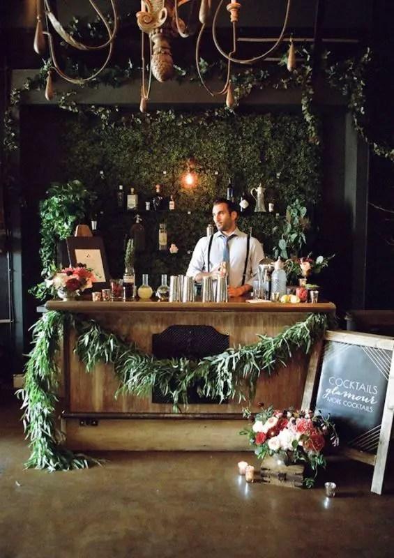 Picture Of Creative Wedding Drinks Bar Design Ideas 6