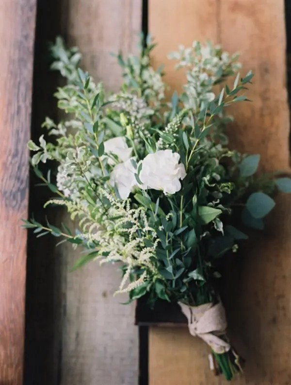 Picture Of Darling Greenery Wedding Bouquets 7