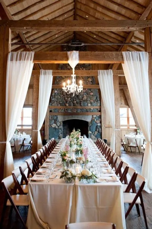 Picture Of Glamorous Chandeliers Wedding Decor Ideas 24