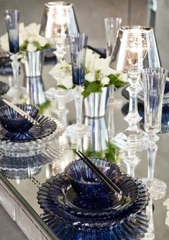 Picture Of Stunning Midnight Blue Color Wedding Ideas