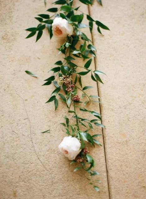 DIY Floral Balloon Garland For Wedding Decor Weddingomania