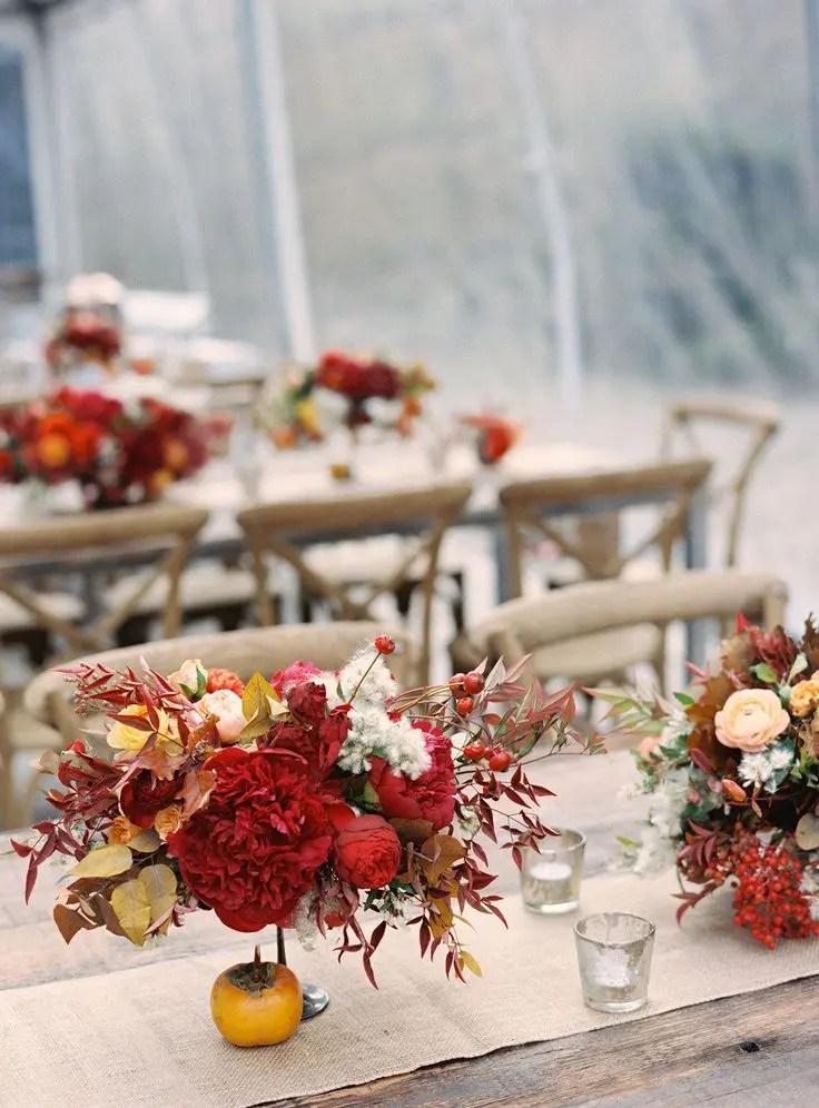Fall Bridal Shower Decorations