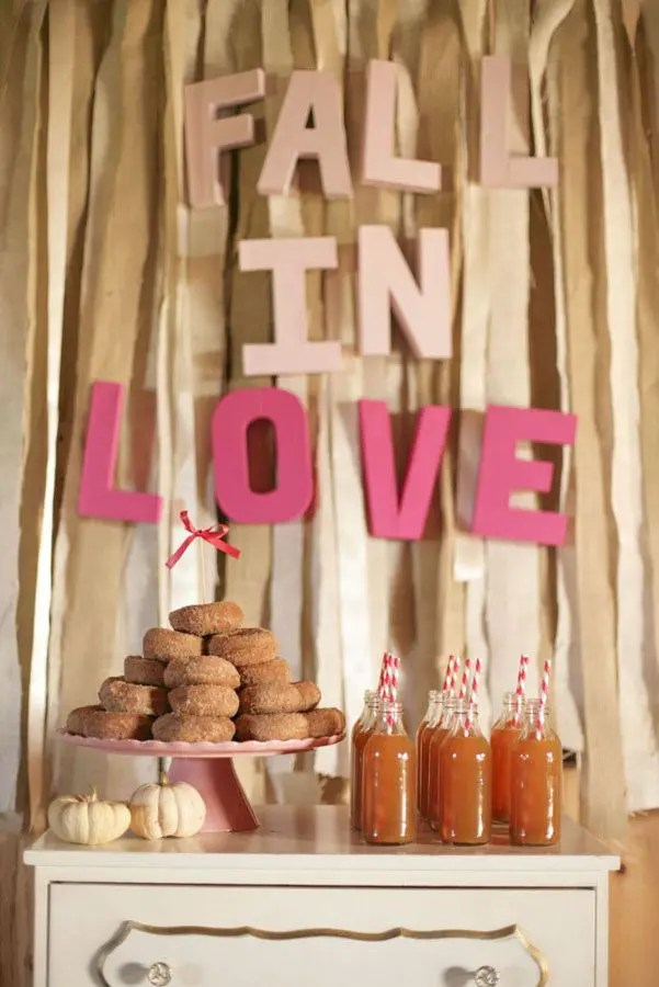 Fall Bridal Shower Ideas