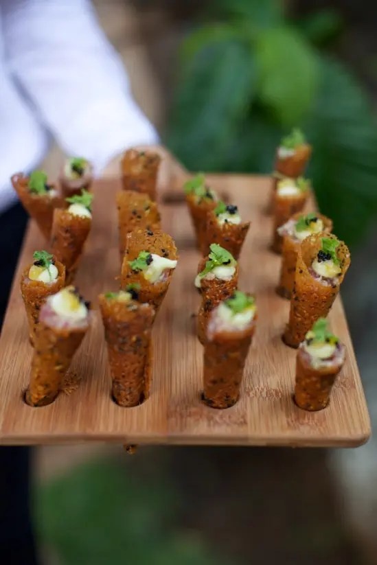 Picture Of Delicious Summer Wedding Appetizers