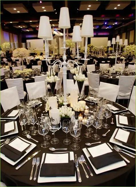 Y But Elegant Wedding Table Settings
