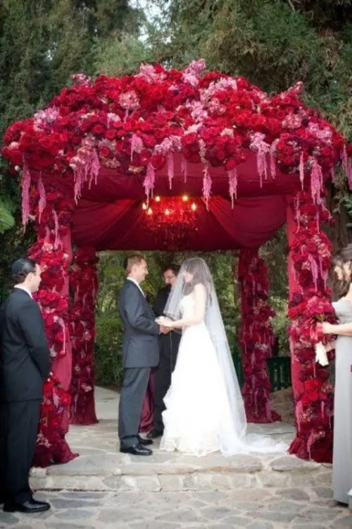 Image Result For Red And White Wedding Dresses