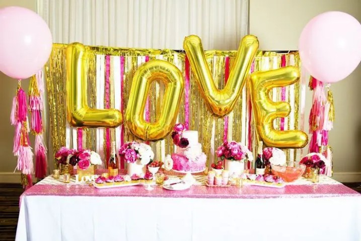 Picture Of huge letter balloons ideas 22