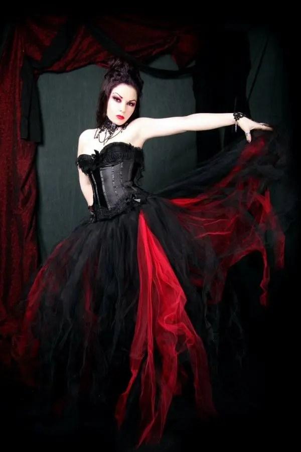 Vampire Wedding Dress Home Long Sleeved Product Vampire Inspired