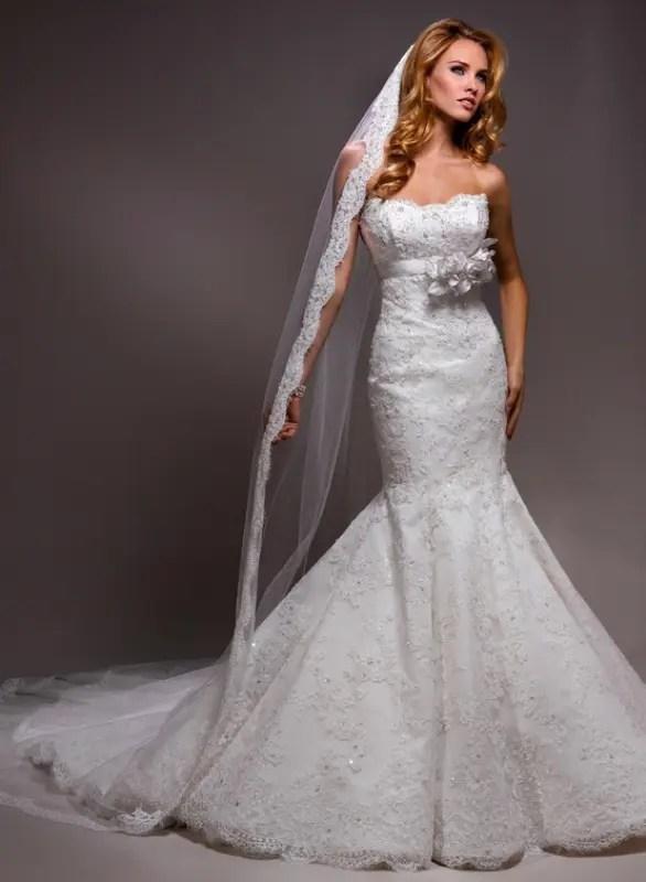 25 Mermaid Style Wedding Gowns Inspiration Weddingomania