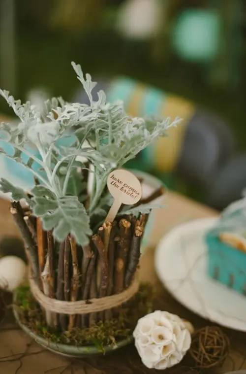 September Wedding Centerpieces