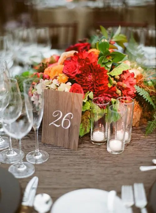 55 Vivid Summer Wedding Centerpieces That Youll Love