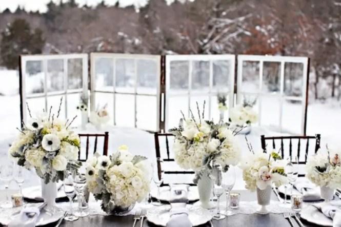 Winter Wedding Decorations Ornament