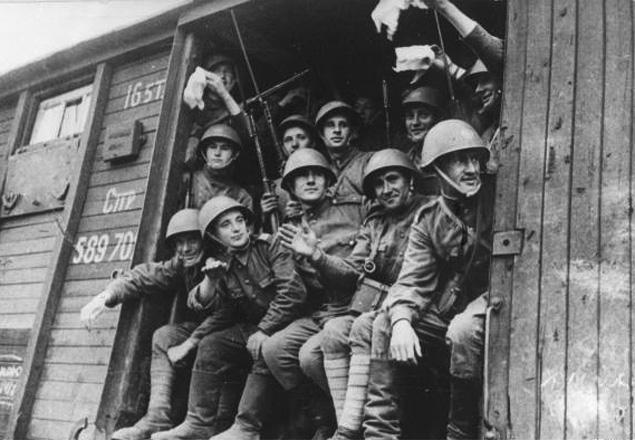 1. Dywizja Piechoty im. Tadeusza Kościuszki w drodze na front
