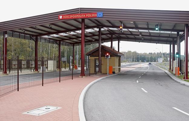 Zmodernizowane polsko-białoruskie przejście graniczne w Połowcach (Podlaskie