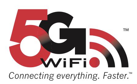 Broadcom's 5G WiFi Logo