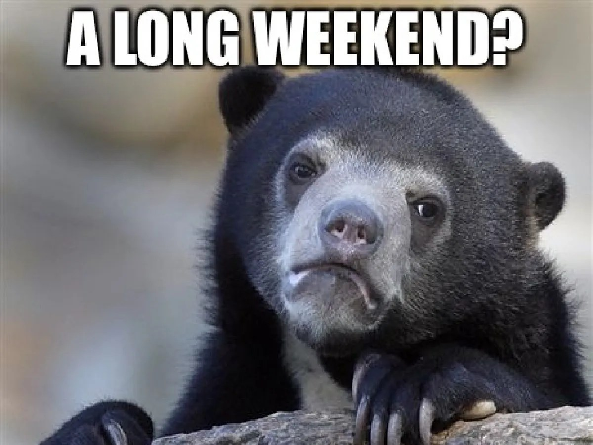 Funny Long Weekend Memes Long Weekend Memes That Will Brighten Up