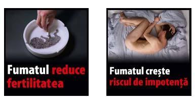 Legea tutunului, promulgată. Țigările aromate dispar în 1 lună, fumatul rămâne interzis în baruri și pe terase cu mai mult de 2 pereți. FOTO imaginile care vor apărea pe pachete pentru a speria fumătorii