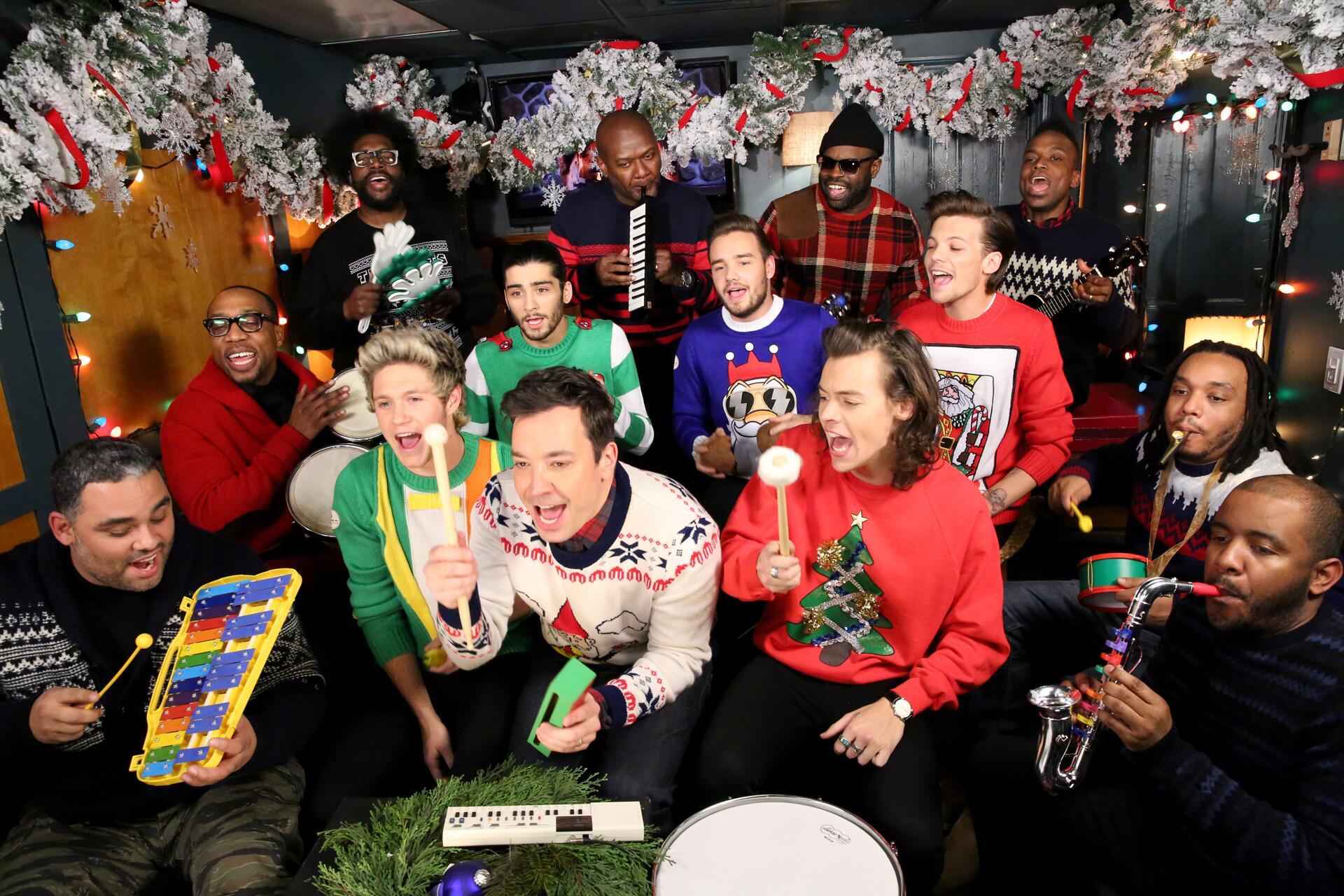 Jimmy Fallon Christmas Sweater