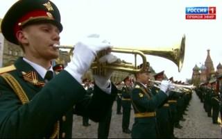 俄罗斯国歌(17年胜利日阅兵)