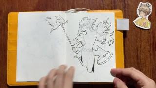 【理科生的手绘本】一个月一本挑战,我的咸鱼绘画VLOG