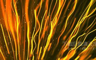 s642 超炫金色光效粒子光束生长动画特效晚会舞台背景视频会素材 剪辑合成 婚礼婚庆 开场视频 舞台背景 动态视频素材 视频特效 晚会视