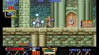 永恒唠游戏:魔法剑,当年玩这游戏,没10个币压根不够,大神直接速通