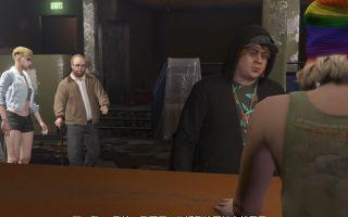【GTA5】【独行侠】【明钻赌场豪劫】——与莱斯特会面过场动画2