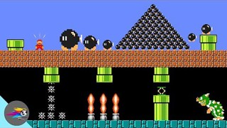 超级玛丽:马里奥超搞笑动画,欢迎来到炸弹世界!