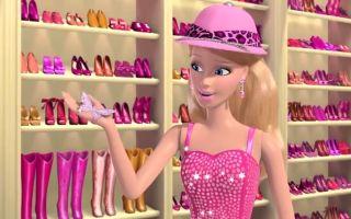 【万千少女的梦想❤️芭比的时尚衣柜】芭比1-7季服饰展示~