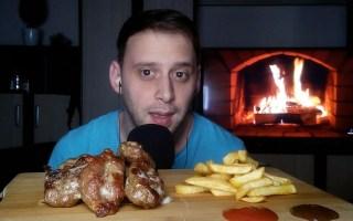 【serbian eats a//r】肉排、炸薯