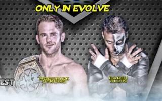 2018.12.16 EVOLVE 118 - Darby Allin vs. Roderick Strong