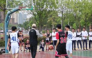 2019级高二16班VS高二25班篮球赛01