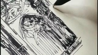 【无稿钢笔画】人肉打字机