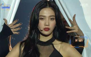 【WithJoy朴秀荣】181228 KBS 歌谣大祝祭  Red Velvet Joy 合作舞台 - Hush 特效中字