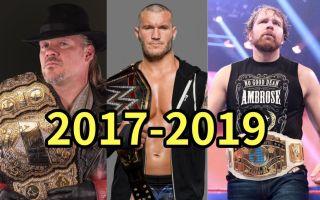 关于摔角的2017-2019,有太多让人动容的瞬间!
