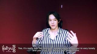 HallyuSG 对 Kevin Oh 关于 lover 的一小段采访