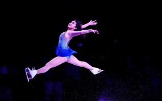 【陈楷雯】Karen Chen休赛季新表演滑Never enough完整版 近景观众席视角