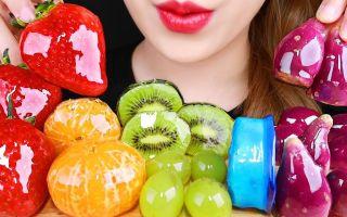 【Leas】(*╹▽╹*)冰糖水果(橘子、草莓、提子、猕猴桃)