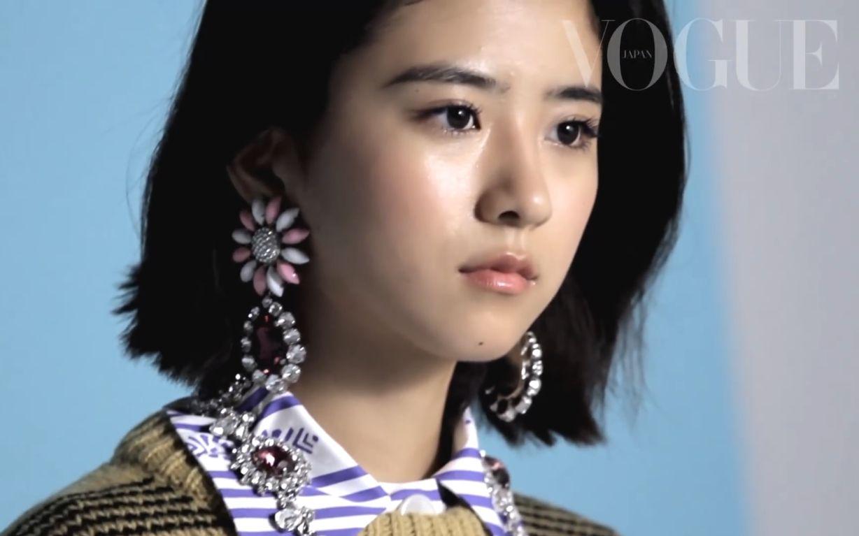 【黑島結菜】小黑菜變身為成熟模特惹-_Vogue Japan_嗶哩嗶哩 (゜-゜)つロ 干杯~-bilibili