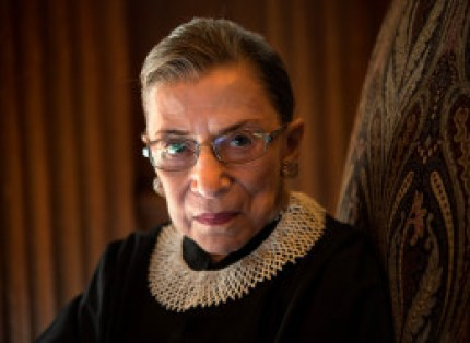 "Supreme Court Justice Ruth Bader Ginsburg said recent decisions by the high court undermine its role in solving a ""real racial problem"" in America. (Photo by Nikki Kahn/The Washington Post via Getty Images)"
