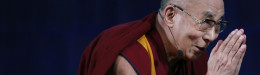 Image for The Dalai Lama Gives New Yorkers A Lesson On Wisdom As Opponents Protest